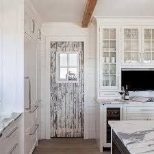 rustic cottage kitchen pantry door design ideas
