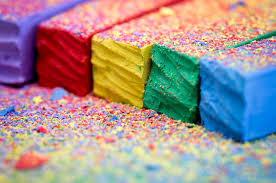 colorful chalks by ian roberts on deviantart
