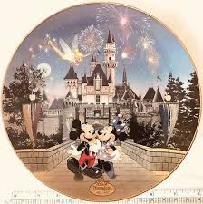 40th anniversary plate disneyland 40th anniversary bradford collectors plate sleeping