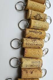 personalized keychain party favors wine cork wedding favors eatatjacknjills