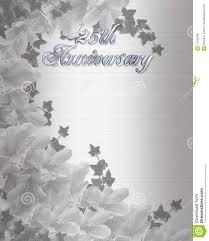 25th Anniversary Invitation Cards Marriage Anniversary Invitation Card Futureclim Info