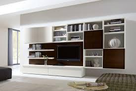 napol soggiorni parete attrezzata in rovere 550 con contenitori e libreria ideale