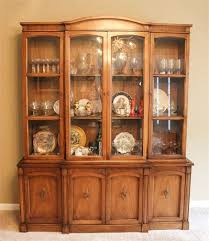 Drexel Heritage China Cabinet Rust Belt Revival Online Auctions