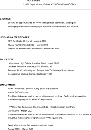 Hvac Technician Resume Sample by Hvac Resume Template Download Free U0026 Premium Templates Forms