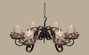 Handmade Chandeliers Lighting Rustic Lighting Chandeliers Candle And Chain Rustic Chandeliers