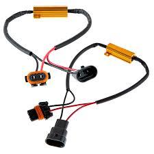 load resistors for led lights headlight load resistor kit 9005 led headlight bulbs flashers