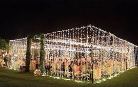 wedding backdrop fairy lights here s how to brighten your wedding with fairy lights venuescape