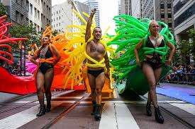 can t be in san francisco follow the sf pride parade live here