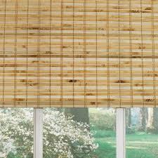 Cool L Shades Blackish Brown Rectangle Contemporary Bamboo Shade Hardware