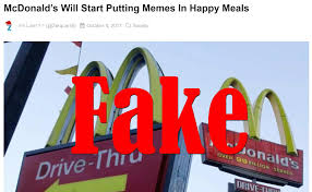 Meme Mcdonalds - fake news mcdonald s will not start putting memes in happy meals