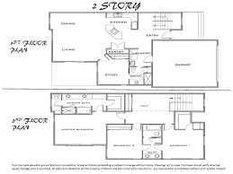 2 Story Floor Plan by 2 Story Floor Plans Without Garage Garage Apartment Floor Plans