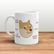 Coffee Cup Meme - funny doge meme coffee mug cute dose