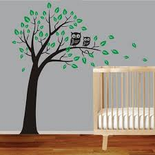 aliexpress buy large owl tree wall sticker removable