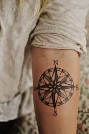 25 beautiful travel tattoo ideas for girls compass tattoo and