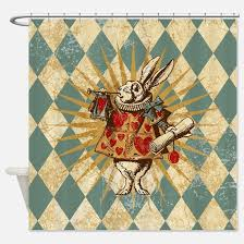 vintage shower curtains cafepress