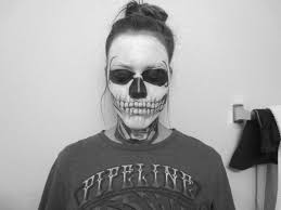 Skeleton Face Painting For Halloween by Ahs Skeleton Face Tate Langdon Halloween Special Youtube