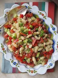 cuisiner les haricots blancs la cuisine d ici et d isca salade de haricots blancs aux crudités