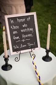 unique wedding memorial ideas in loving memory diys