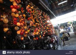 fancy light decorated in a home decor shop at chatuchak weekend