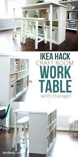 Craft Desk Organizer Crafting Desk With Storage Craft Desk With Storage This Is An