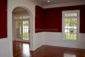 Dining Room Chair Rail Ideas | paint color ideas for dining room with chair rail home decoration