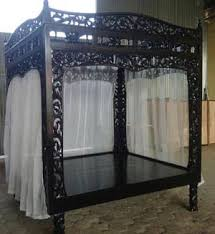4 Bed Frame Bed Frames Beds 4 Poster Canopy Wedding