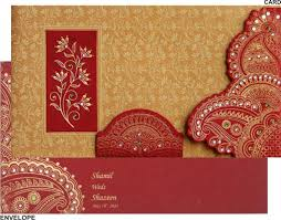 weeding card indian wedding card cloveranddot