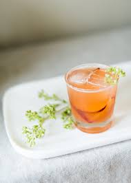 simple summer dinner party pluot shrub cocktail craft and