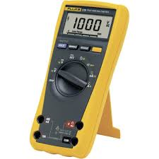 handheld multimeter digital fluke 175 calibrated to