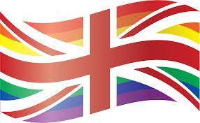 Union Flags Clipart Waving Rainbow Union Flag