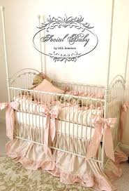 Nursery Decoration Ideas by Decorating Exiting Bratt Decor Venetian Crib For Nursery