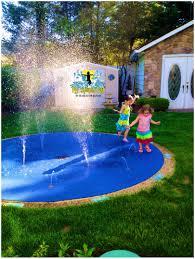 backyards terrific my splash pad residential backyard water park