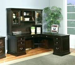 Wood Corner Desk With Hutch Office Desk And Hutch Image Of Computer Desks Office Furniture
