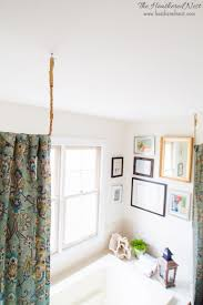 pipe dreams aka build a diy curtain rod in 10 minutes the