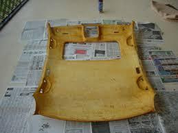 Headliner Upholstery Recovering You Car U0027s Headliner And Pillars 6 Steps