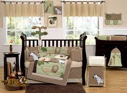 Jungle Themed Crib Bedding Jungle Themed Nursery Bedding Sets Palmyralibrary Org