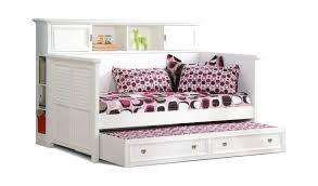 Daybed With Bookcase Bookcase Bookcase Daybed With Storage White Holland House Belmar