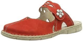 josef seibel women u0027s fashion sandals red rot kiss shoes josef