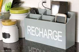 decorative charging station enchanting family charging station diy a family charging station