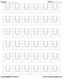 printable block letter dot to dots u coloring worksheets free