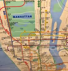 A Train Subway Map by Emma G Fitzsimmons On Twitter