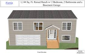 custom ranch floor plans raised ranch house plans fortin construction custom home