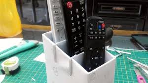 Tv Remote Control Holder For Chair How To Make A Remote Control Stand Diy Crafts Tutorial