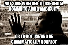 Comma Meme - chicago mla and ap oh my platinum pr