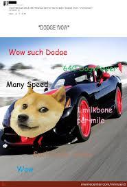 Doge Car Meme - doge viper srt 8 by minizen1 meme center