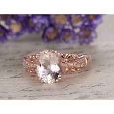 morganite gold engagement ring morganite engagement ring gold diamond ring morganite ring halo