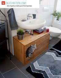All In One Multipurpose Bathroom Furniture Which Hides A by Pets Cat Litter Furniture Furniture For Cat Litter Box Hide A