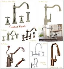 elegant traditional kitchen faucets 8 designer favorites