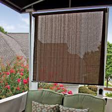 Porch Sun Shade Ideas by Shades Interesting Patio Shades At Lowes Custom Roman Shades