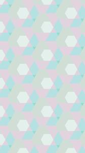 Peach Color by Geometric Pattern Blue Peach Color Wallpaper Sc Iphone7plus